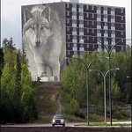 Wolf Mural