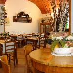 The restaurant of the Locanda