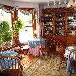 Rose Arbour B&B, Chester, VT Dining Room