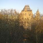 The Natural History Museum View from my window