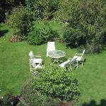 Our garden - available to guests when the weather permits!
