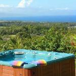 Private ocean-view Jacuzzi