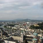  View of Salzburg from the famous Hohensalzburg Fortress