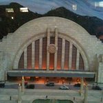 Union Terminal from the diorama in the Historical Museum.