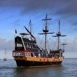 The Mighty Pirate Ship Black Raven