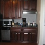 kitchen/laundy in suite