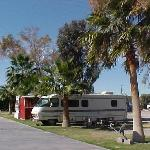 Our RV at Fender's