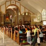  Inside Quiapo Church, Manila ,,, this was a huge place when I was little ... now it&#39;s small!
