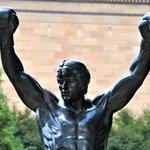 Rocky Statue
