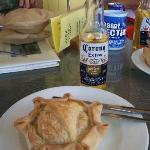 Meat pies @ the Pinnacle Hotel