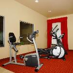 Work out in our Cardio equipped Fitness Room