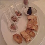 The amuse bouches