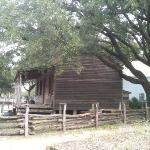 Old Cabin (early settlers) @ Houston Heritage Park