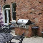 the gas barbecue