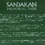 Sandakan War Memorial writeup