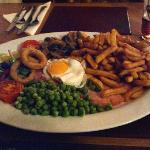 Farrington Inn's Gammon Steak Meal