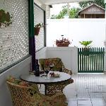 Large Private Veranda