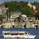 See the Sleepless in Seattle floating home on Lake Union!