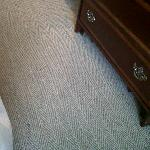 stain in carpet