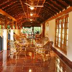  Long veranda typical of Kerala architecture