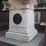 Photo of Edgar Allan Poe's Grave Site and Memorial