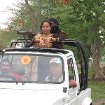 this photo is taken  in jeep safari