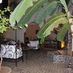 Inside the Riad.