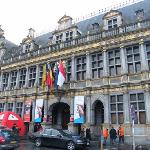 Tournai city hall...