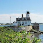 Rose Island Lighthouse照片