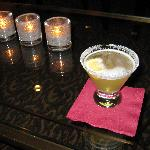 Lemon Drop at the Club Lounge