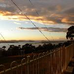 Early morning view at Mt Nelson