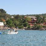  Casa De Tortugas as seen boating into the marina