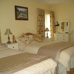 Luxury Bedroom at O'Driscoll's B&B. Glin