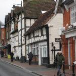 Street in Godalming town