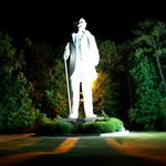 Photo of Sam Houston Statue