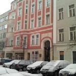  Hotel Gunia, 1st floor, red building.