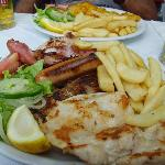 Mixed Grill on the seafront, 6.95 Euro !!!!!!