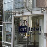 The hotel in Aachen