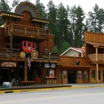Keystone, SD.  Awesome, awesome town!