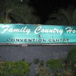  Family Country Hotel at Night