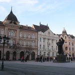 Serbian National Theatre in Novi Sad