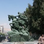 Saladin (Selahedin) Statue
