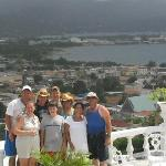 Our entire bunch on Richmond Hill overlooking Montego Bay!