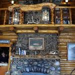  fireplace in main lodge