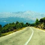 Road to Sicuraj from Hvar Town