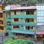 Our hotel in Aguas Calientes