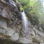 One of the waterfalls in the area
