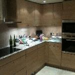 Flat kitchen