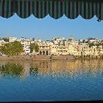  View from Food Club restaurant across Lake Pichola