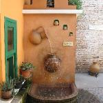 Charming water feature